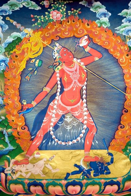 Vajrayogini_from_Thangka