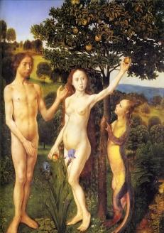 The Fall of Adam and Eve, Hugo van der Goes, c. 1470