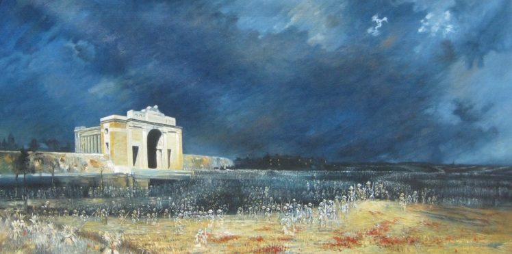 Menin_Gate_at_midnight_(Will_Longstaff)